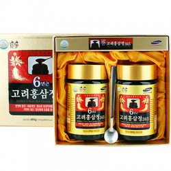 Korean Red Ginseng 6 Years Extract 365 480g (240g (700kcal) X 2each
