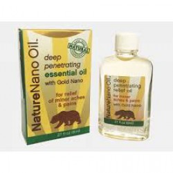 Nature Gold Nano Oil .27oz 8ml