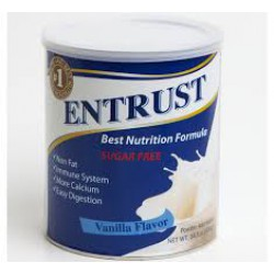 Entrust Best Nutrition Formula No Added Sugar Vanilla Flavor 400g 14.1oz