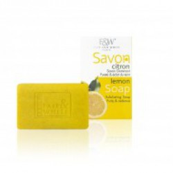 Fair & White Savon Lemon Exfoliating Soap Purity & Radiance 200mg