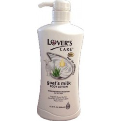 Lover's Care Body Lotion Yogurt, Shea Butter, Soothes & Protects Skin Aloe Vera 27.05oz 800ml