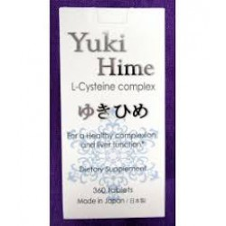 Yuki Hime L-Cysteine Complex 360 tablets