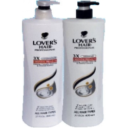 Lover's Hair Professional 3X Oriental Premium Set (Shampoo and Conditioner)