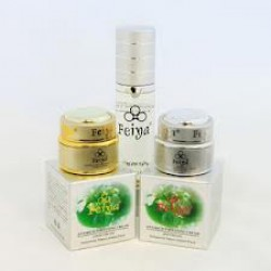 Feiya Brightening Day Cream, Night Cream and Cleansing Lotion